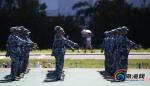 【南海网】又是一年军训时 直击海南大学新生军训生活 - 海南大学