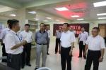全国总工会副主席阎京华一行到省总工会调研 - 总工会