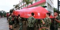 """台风""""杜苏芮""""逼近 三亚消防官兵紧急部署 - 海南新闻中心"""