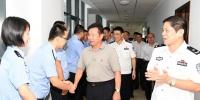 肖杰赴省公安厅调研并检查督导检查党的十九大安保维稳工作 - 公安厅