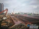 三亚大桥重建工程完成七成 预计今年上半年竣工验收 - 海南新闻中心