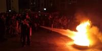海南大学在桥西小区开展消防安全教育与演练 - 海南大学
