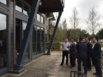 厅领导带队调研装配式建筑 - 住房和城乡建设厅