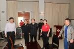 国章成赴三沙检查指导公安部新春慰问演出准备工作 - 公安厅