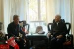 省人大常委会副主任许俊春节前走访慰问省级离退休老干部 - 人民代表大会常务委员会