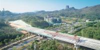 万洋高速儋州市区高架桥完工 - 海南新闻中心