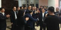 省委书记刘赐贵新春上班首日到省人大慰问祝福 - 人民代表大会常务委员会