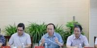海南省科技厅党组书记国章成一行赴海信院调研 - 科技厅