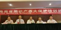海南省知识产权大保护培训班在海口举办 - 科技厅