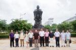 塔斯社马拉特副总编辑一行来我校访问 - 海南师范大学