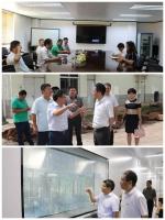 海南省科技厅朱东海副厅长带队深入桂林洋开发区调研高新技术产业推进工作 - 科技厅