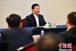 图为海南省委常委、统战部部长肖杰讲话。 骆云飞 摄 - 中新网海南频道
