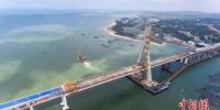 资料图:海南铺前大桥。中新社记者 骆云飞 摄 - 中新网海南频道