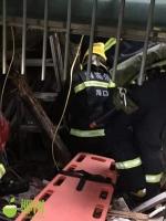 紧急!海口一处房顶坍塌两名老人被困,消防紧急救援…… - 海南新闻中心