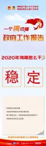 图解 | 一词读懂政府工作报告——2020年海南怎么干 - 海南新闻中心