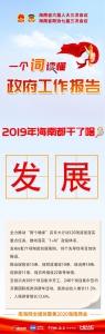 图解 | 一词读懂政府工作报告——2019年海南都干了啥 - 海南新闻中心