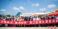 103名滞留海南的湖北旅客乘机返乡 - 中新网海南频道
