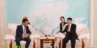 副省长沈丹阳与法国电力集团副总裁兼中国区总裁进行深入洽谈交流 - 海南新闻中心