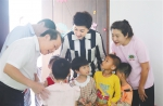 图为2020年11月19日,省残联调研组前往三亚市儿童康复中心进行慰问 - 残疾人联合会