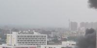 海口椰海综合批发市场发生火灾,现场浓烟滚滚…… - 海南新闻中心