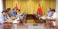 沈晓明与国务院联防联控机制新冠病毒疫苗接种第十驻点工作组会谈 - 海南新闻中心