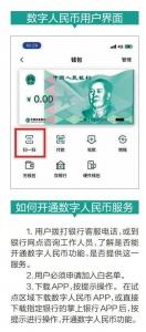 海南也能用数字人民币消费了 怎样开通?如何支付? - 中新网海南频道