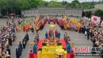 定安县文笔峰举办白玉蟾诞辰纪念日活动 - 中新网海南频道