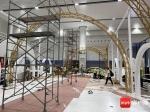 首届消博会时尚生活展区施工火热 部分展位已初具雏形 - 海南新闻中心