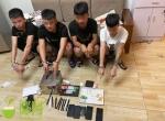 万宁警方摧毁一个电诈团伙,抓获4名嫌疑人,破案3起 - 海南新闻中心