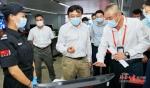 冯飞巡查消博会机场接待点及周边交通保障 - 海南新闻中心