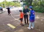 海口美兰区在白沙门公园景区开展安全保障和旅游服务志愿服务活动 - 海南新闻中心
